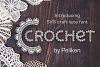 SVG Crochet Font