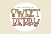 Sweet Berry Font